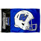 GVSU Lakers Helmet Flag