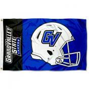 GVSU Lakers Helmet Flag
