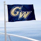 GW Colonials Boat Nautical Flag