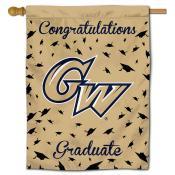 GW Colonials Graduation Banner