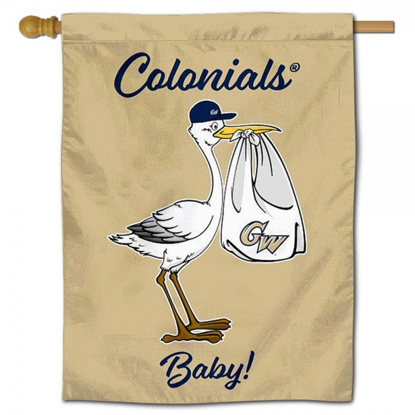 GW Colonials New Baby Banner