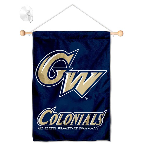 GW Colonials Small Wall and Window Banner