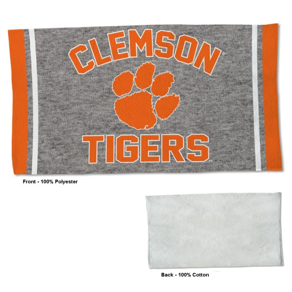 Gym Yoga Fitness Towel for Clemson