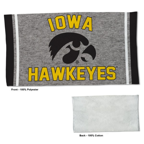 Gym Yoga Fitness Towel for Iowa Hawkeyes