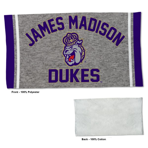 Gym Yoga Fitness Towel for JMU Dukes