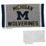 Gym Yoga Fitness Towel for Michigan Wolverines