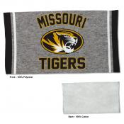 Gym Yoga Fitness Towel for Missouri Mizzou Tigers