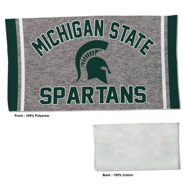 Gym Yoga Fitness Towel for MSU Spartans