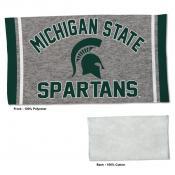 Gym Yoga Fitness Towel for MSU Spartans