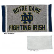 Gym Yoga Fitness Towel for Notre Dame