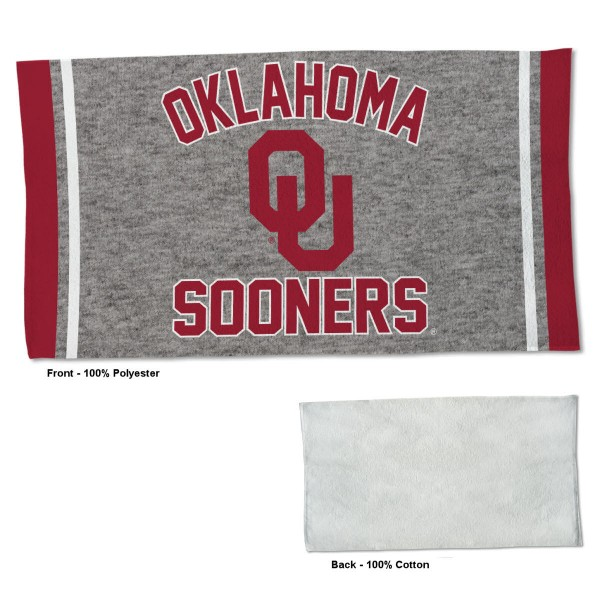 Gym Yoga Fitness Towel for OU Sooners