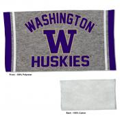 Gym Yoga Fitness Towel for Washington UW Huskies