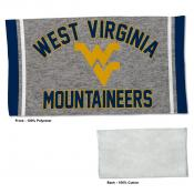 Gym Yoga Fitness Towel for WVU Mountaineers