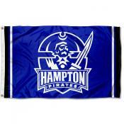 Hampton Pirates Outdoor 3x5 Foot Flag