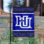 Hampton University Pirates Garden Flag