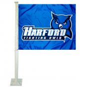 Harford College Fighting Owls Car Flag