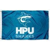 Hawaii Pacific Sharks Logo Flag