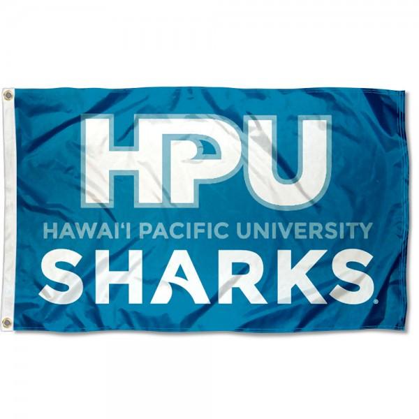 Hawaii Pacific University HPU Logo Flag