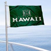 Hawaii Warriors Boat Nautical Flag