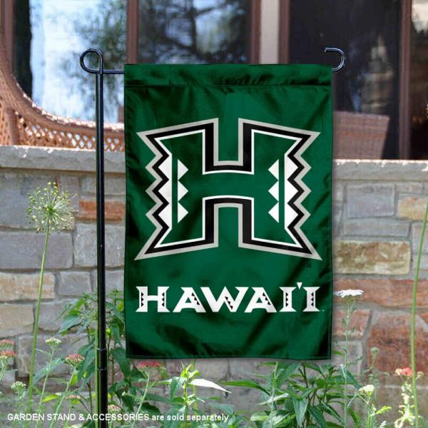 Hawaii Warriors Garden Flag