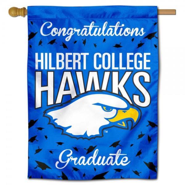 Hilbert College Hawks Graduation Banner
