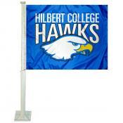 Hilbert Hawks Logo Car Flag