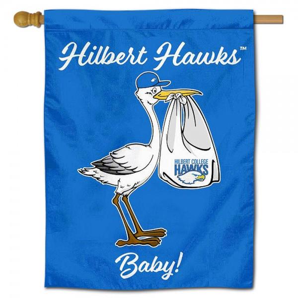 Hilbert Hawks New Baby Banner