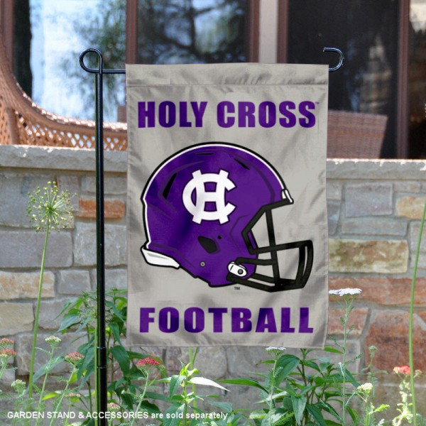 Holy Cross Crusaders Football Garden Flag