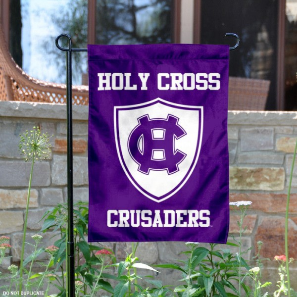 Holy Cross Crusaders Garden Flag