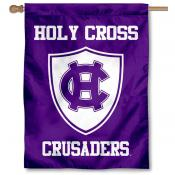 Holy Cross Crusaders Shield House Flag