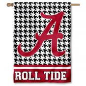 Houndstooth Banner Flag for Alabama Crimson Tide