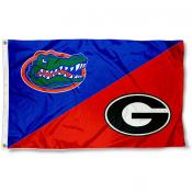 House Divided Flag - Dawgs vs. Gators