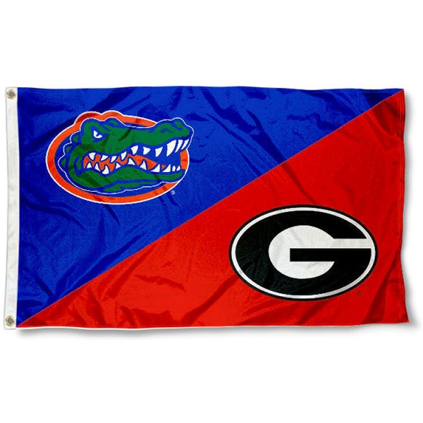 House Divided Flag - Florida vs. Georgia