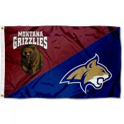 House Divided Flag - Grizzlies vs. Bobcats