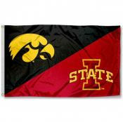House Divided Flag - Iowa vs. Iowa State