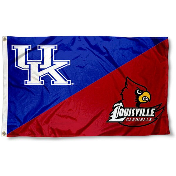 House Divided Flag - Kentucky vs. Louisville