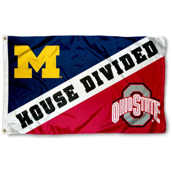 House Divided Flag - Michigan vs. Ohio State