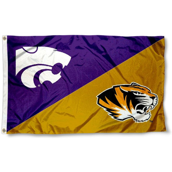 House Divided Flag - Mizzou vs. K State