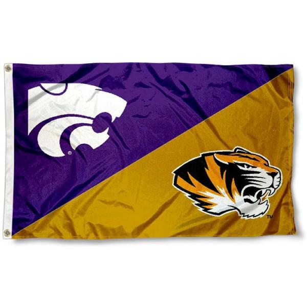 House Divided Flag - Mizzou vs. K State