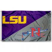 House Divided Flag - Nicholls State vs. LSU