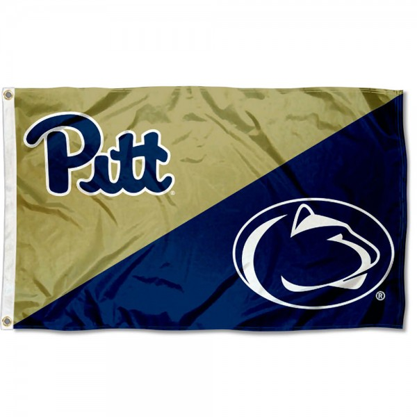 House Divided Flag - Panthers vs. Nittany Lions