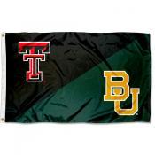 House Divided Flag - Red Raiders vs. Baylor Bears