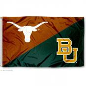 House Divided Flag - Texas vs. Baylor