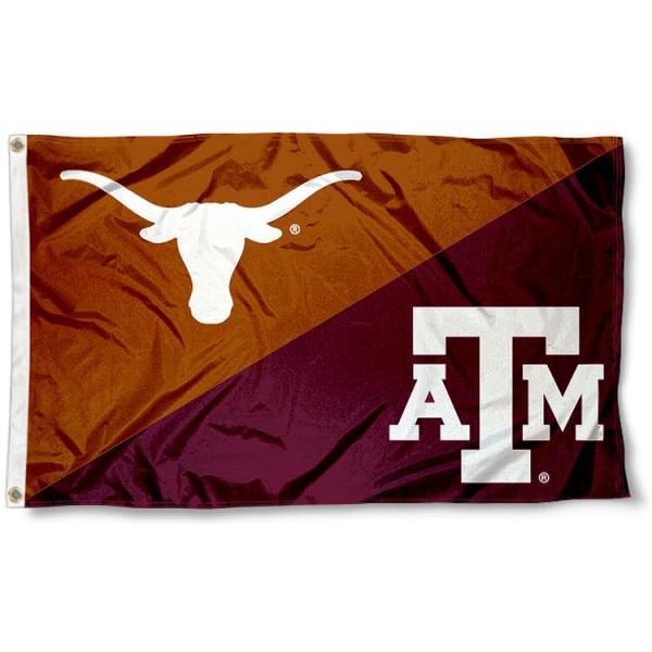 House Divided Flag - Texas vs. Texas A&M