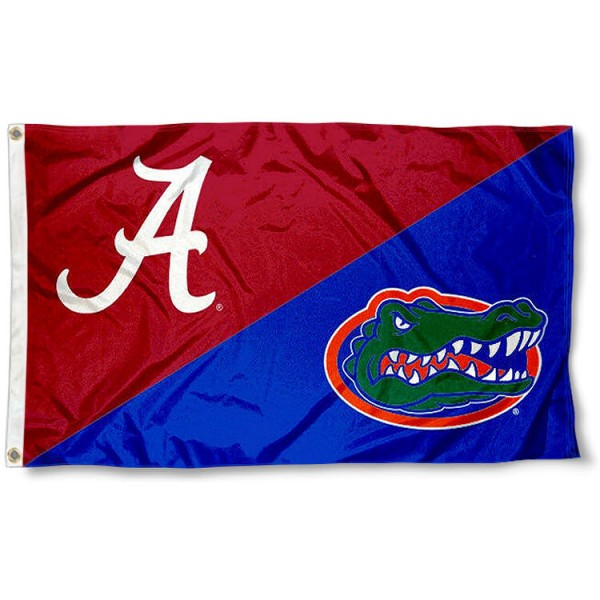House Divided Flag - UF Gators vs. Roll Tide