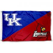 House Divided Flag - UL Cardinals vs. UK Wildcats