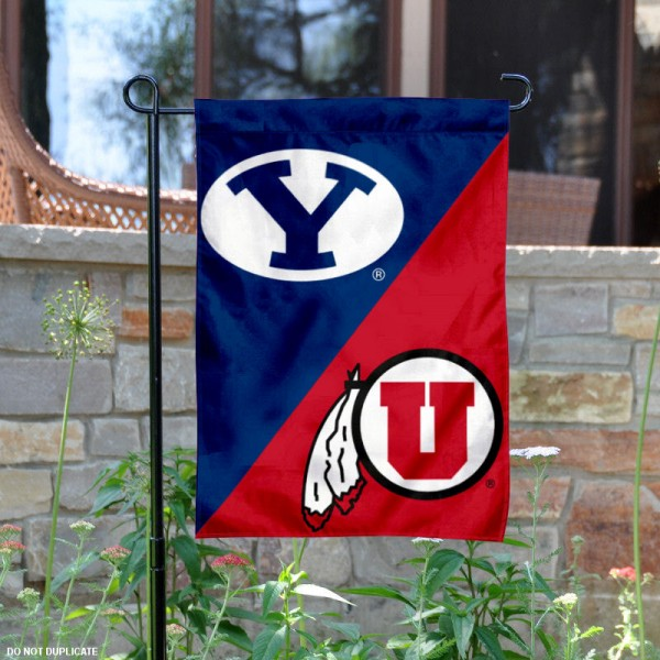 House Divided Garden Flag - BYU vs. PSU