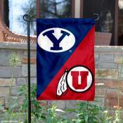 House Divided Garden Flag - BYU vs. PSU