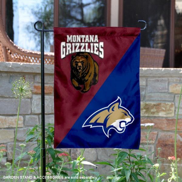 House Divided Garden Flag - Grizzlies vs. Bobcats