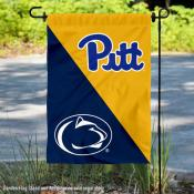 House Divided Garden Flag - Panthers vs Nittany Lions